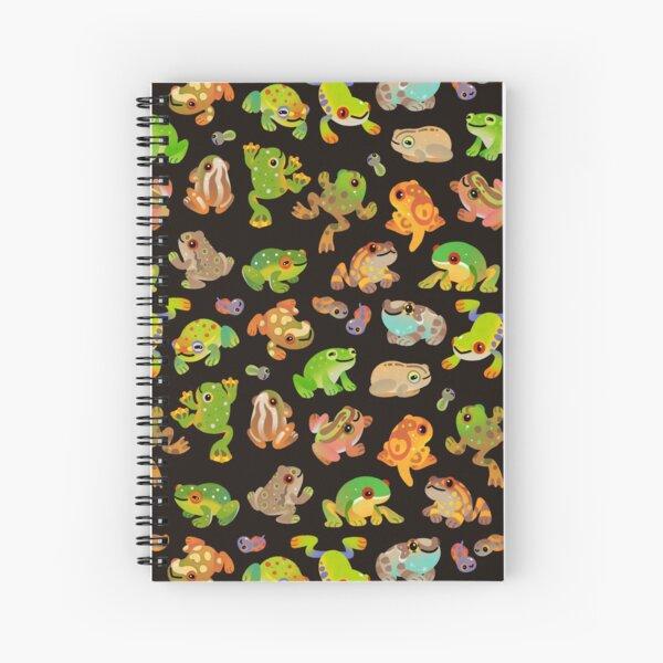 Tree frog - dark Spiral Notebook