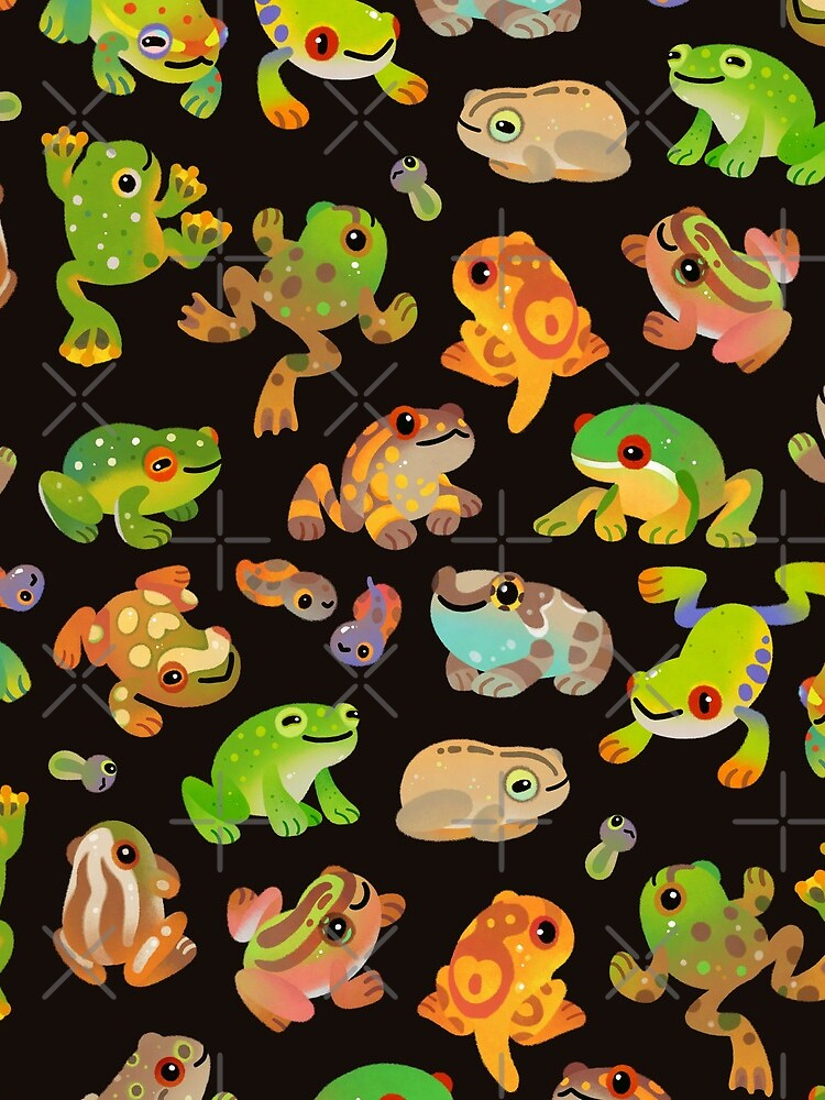 Tree frog - dark by pikaole