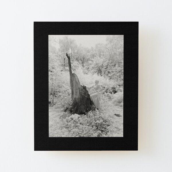 'The Druidess' Wood Mounted Print