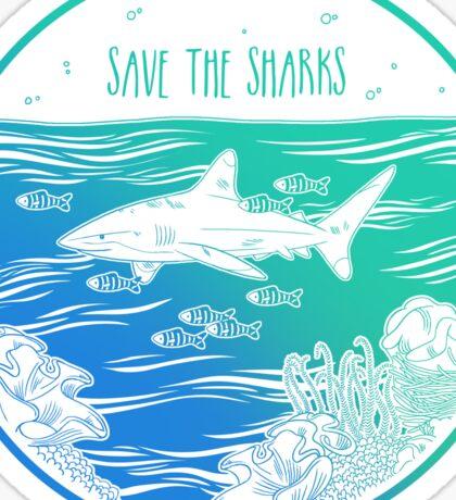 Save the Sharks! Sticker