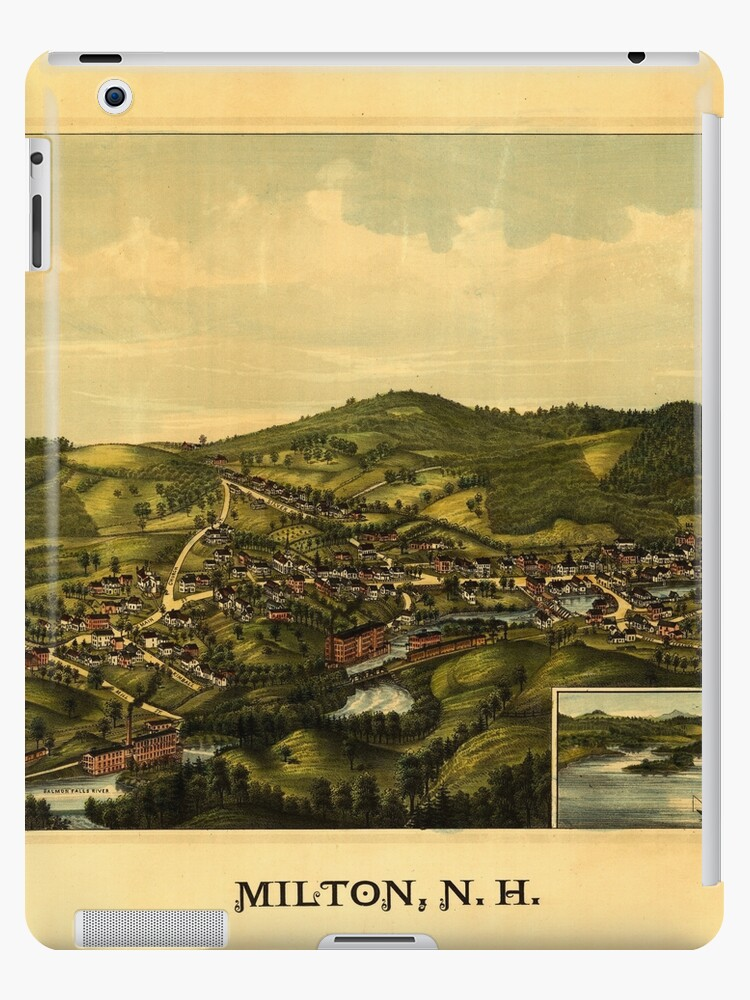 Panoramic Maps Milton NH 1888 by wetdryvac
