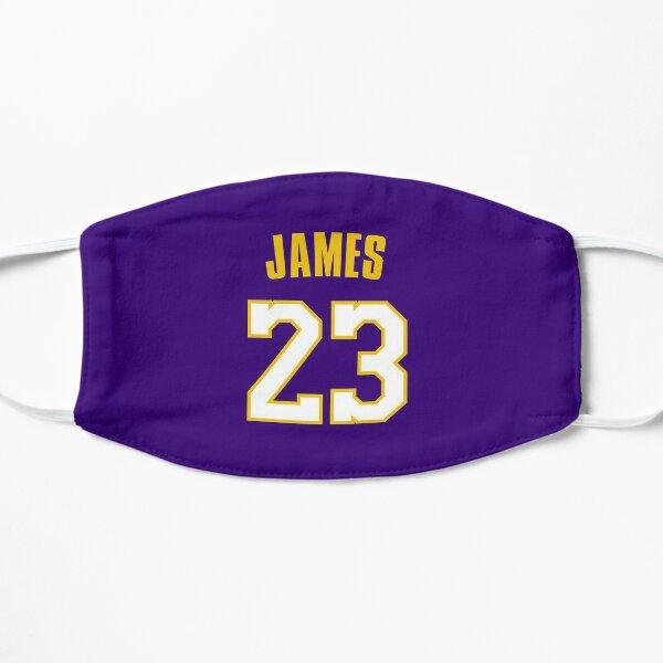 LeBron James 23 LA Flat Mask