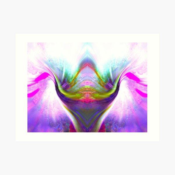 Maybe purple makes you feel good Art Print