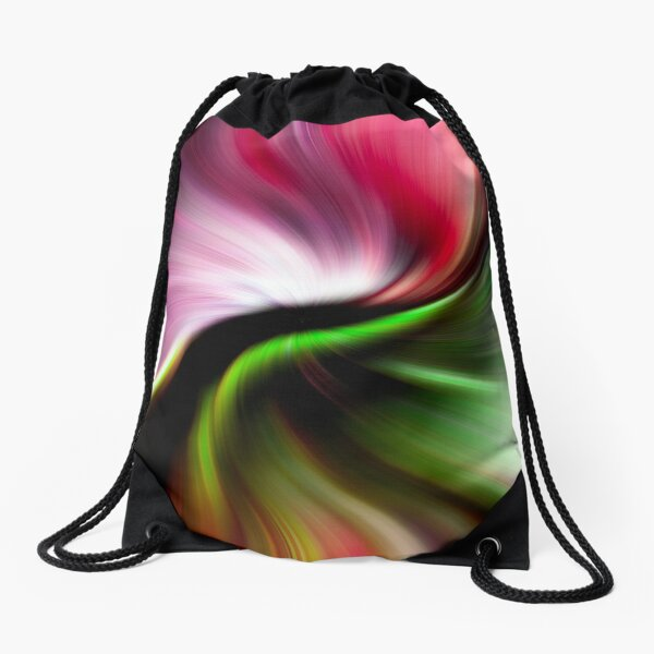Maybe you could slip through unnoticed  Drawstring Bag