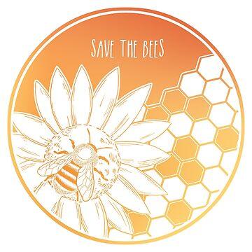¡Salva a las abejas! de Chikagi