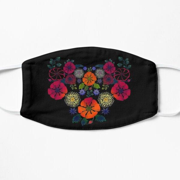 Vintage Ukrainian Embroidery Vyshyvanka Style Retro Floral Ukraine Gift Mask