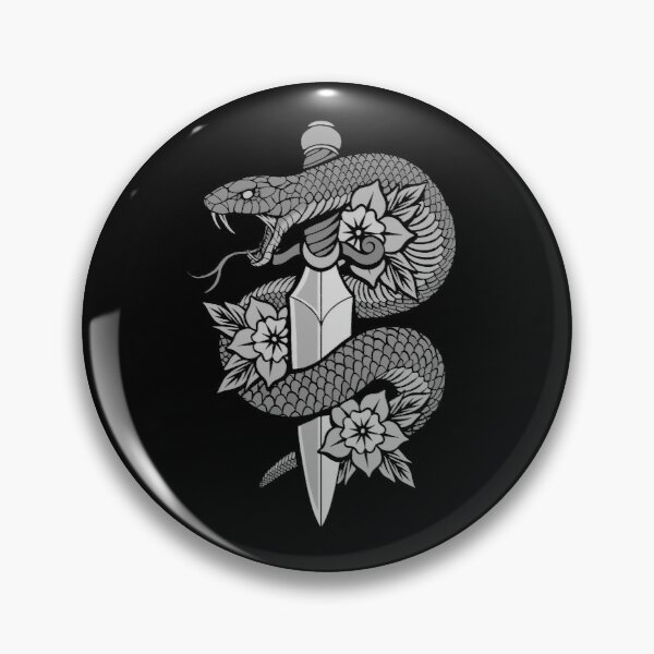 Snake & Dagger Pin