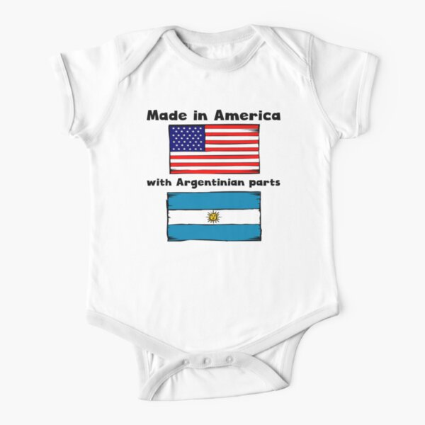 Suit Argentinian Novelty Themed Baby Grow KEEP CALM AND GO TO ARGENTINA