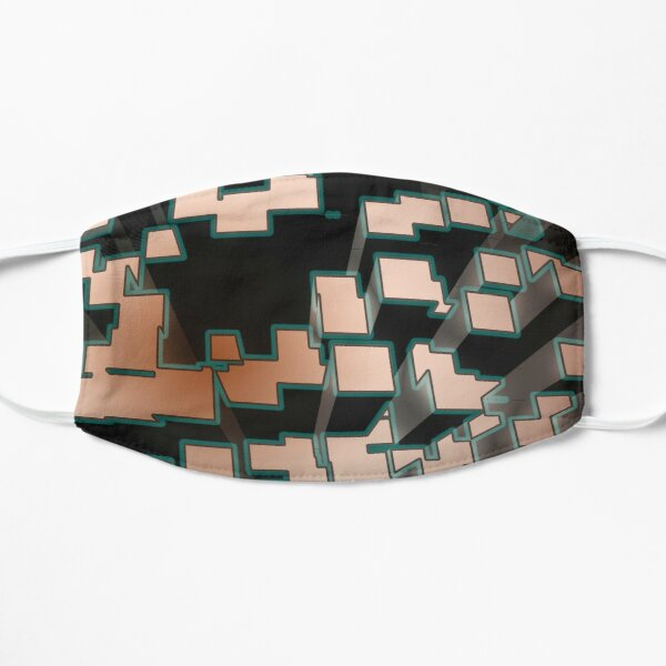 Neon Extrusion I Flat Mask