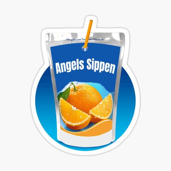 Engel Sippen Symba Deutschrap Fan Design Sticker