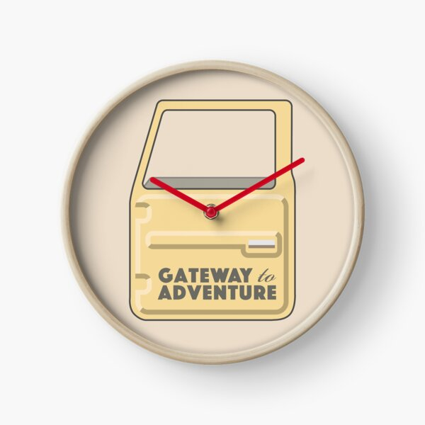 Gateway to Adventure Clock