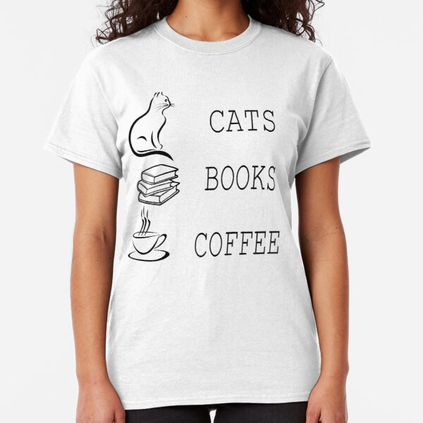 tee All I Need is Coffee and Some Cat Cuddles Cat LoverWomen Sweatshirt