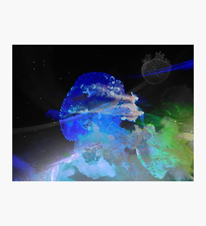 Outer Space Jellyfish Photographic Print