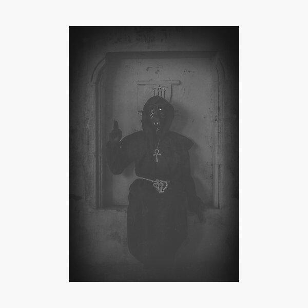 'Shadow of Baphomet' Photographic Print