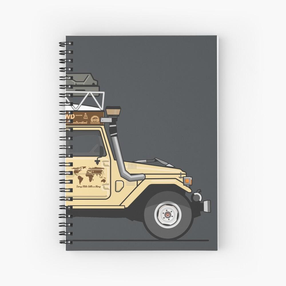 Exploromobile Spiral Notebook