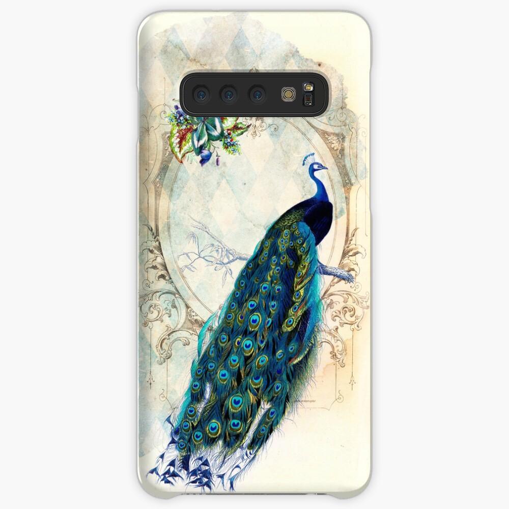Vintage Peacock Case Case & Skin for Samsung Galaxy