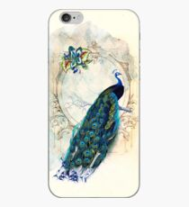 Vintage Peacock Case iPhone Case