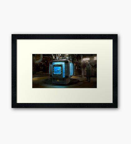 HENRi Brain Machine Framed Print