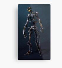 HENRi Robot Concept Metal Print