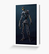 HENRi Robot Concept Greeting Card
