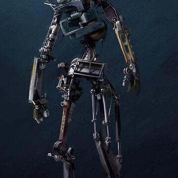HENRi Robot Concept by esasich