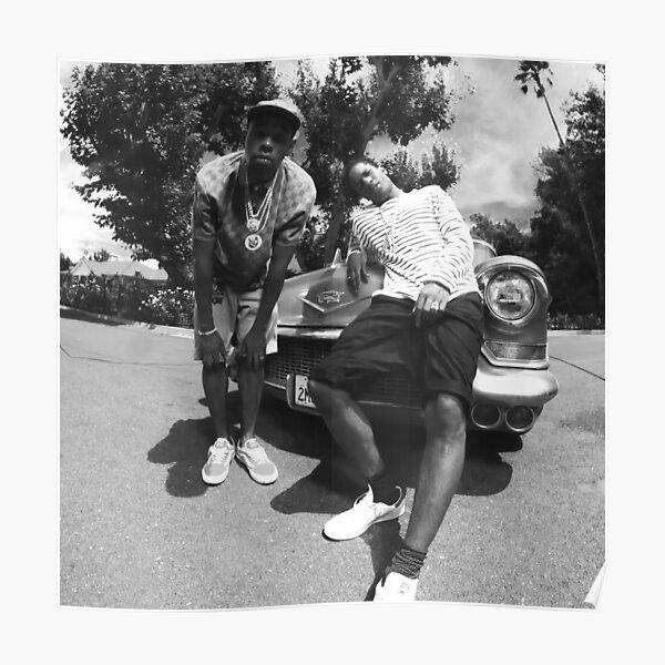 Tyler und Rocky im Auto Poster