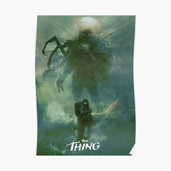 The Thing Poster Poster