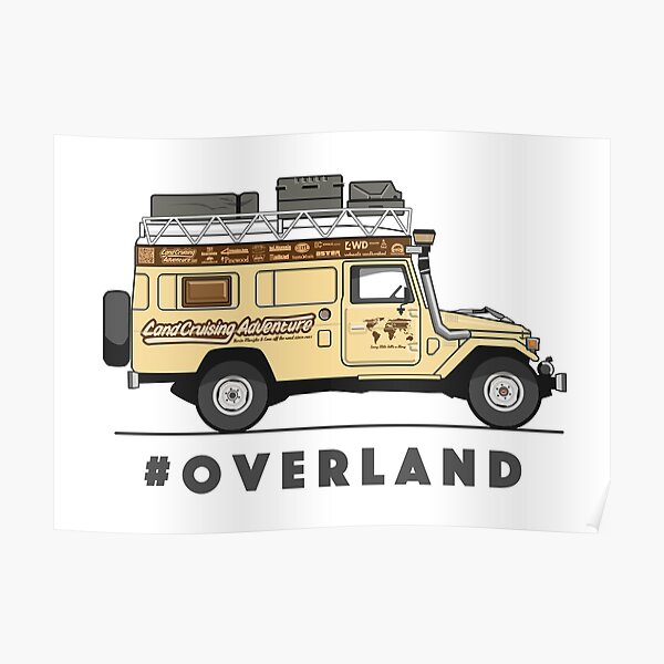 #OVERLAND Poster
