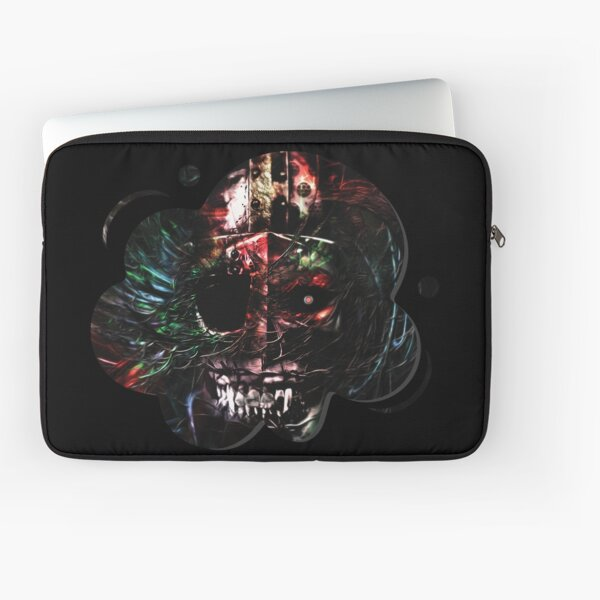 Dark fantasy skull design  Laptop Sleeve