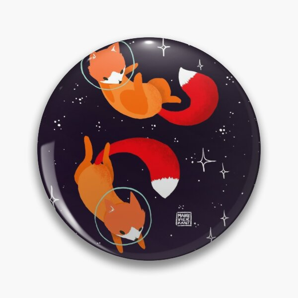 Space Foxes Pin