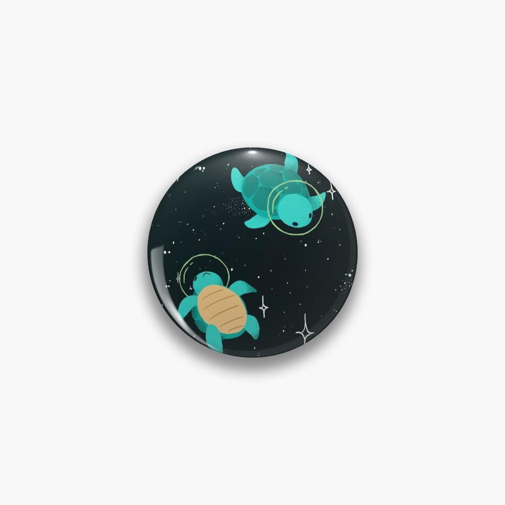 Space Turtles Pin