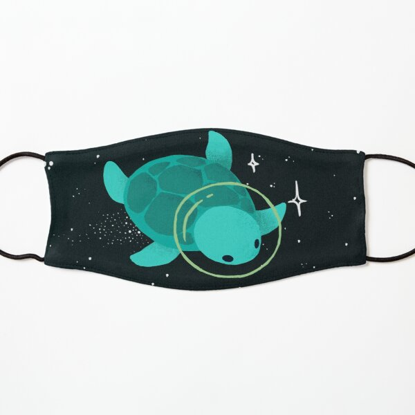 Space Turtles Kids Mask