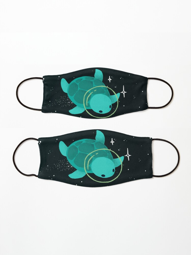 Alternate view of Space Turtles Mask