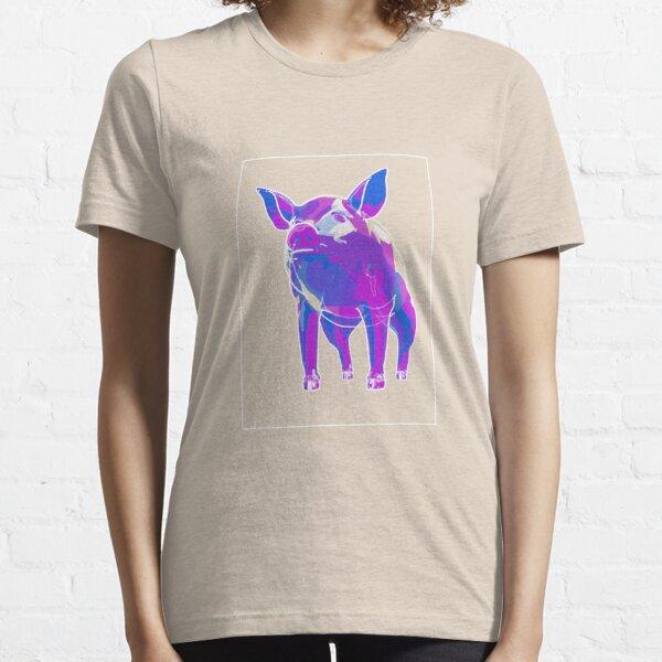 Pig Blue Purple F Essential T-Shirt