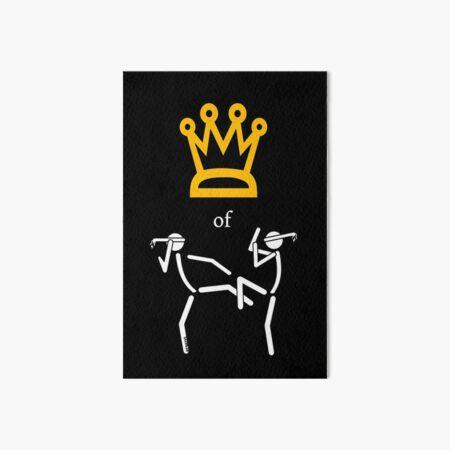 King/Queen of Muaythai Art Board Print