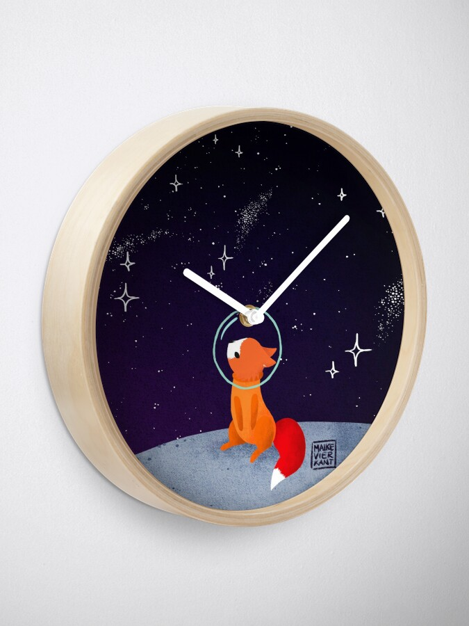 Alternate view of Somewhere Out There Clock