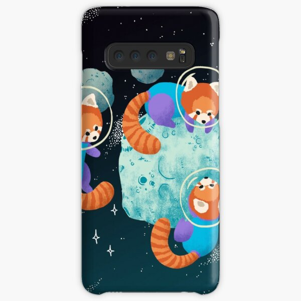 Red Space Pandas Samsung Galaxy Snap Case