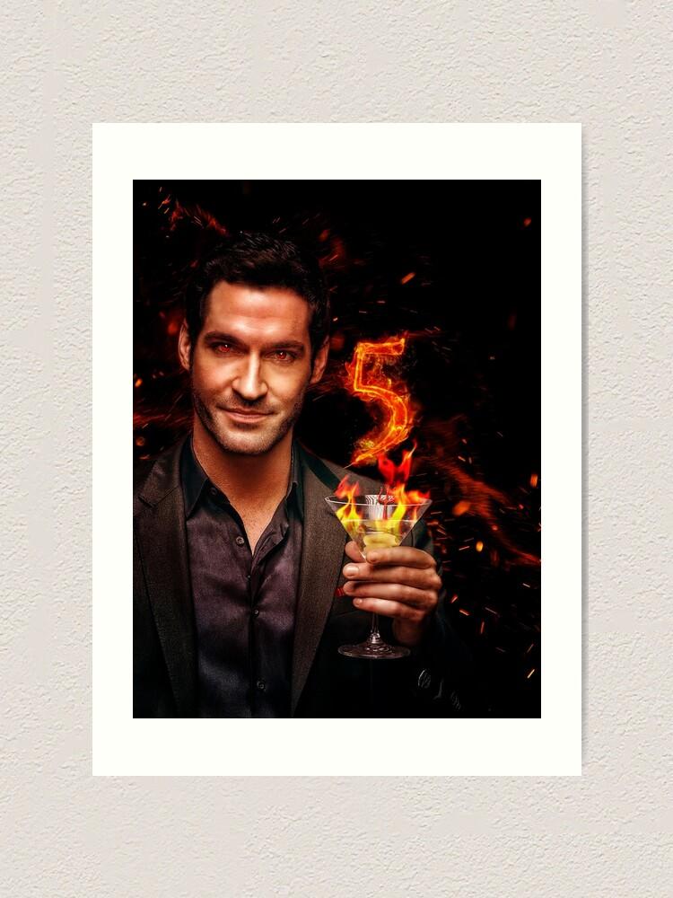 Lucifer Season 5 Poster Design Art Print By Kristin1228 Redbubble