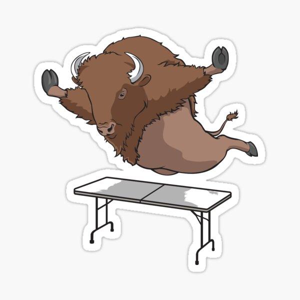 Real Buffalo Bills Mafia Buffalo Bills Superfan table dive Design Sticker