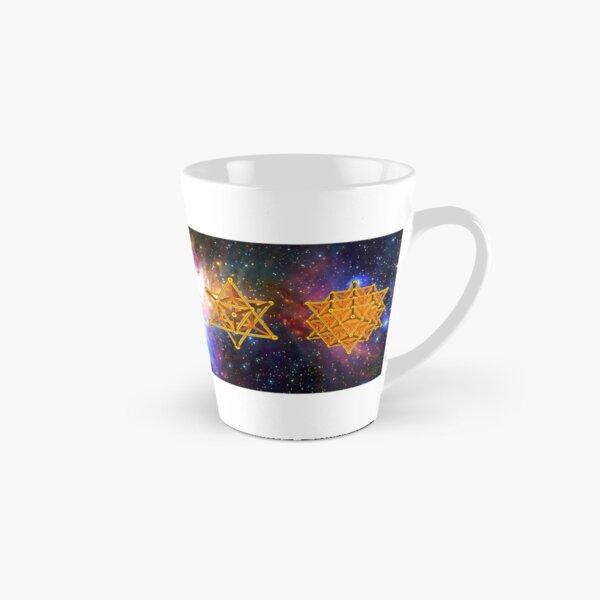 Flower of life DNA Merkaba Tall Mug
