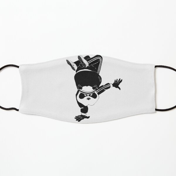 Breakdancin' Panda Kids Mask