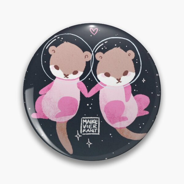 Space Otters Pin