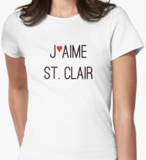 J'aime St. Clair Women's Fitted T-Shirt