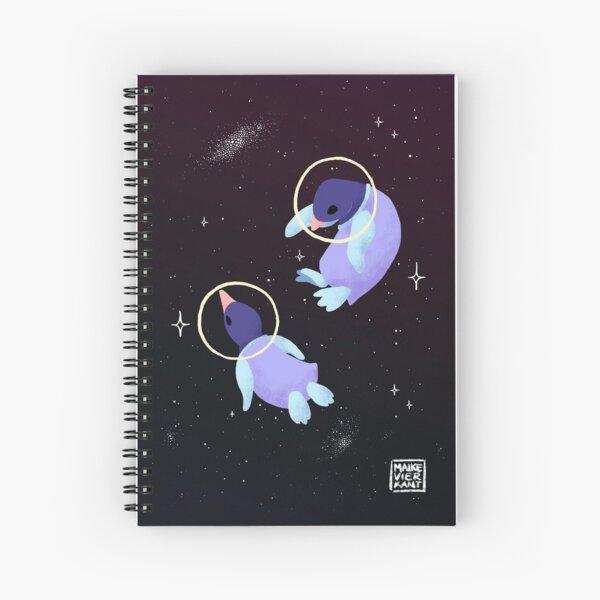 Space Penguins Spiral Notebook