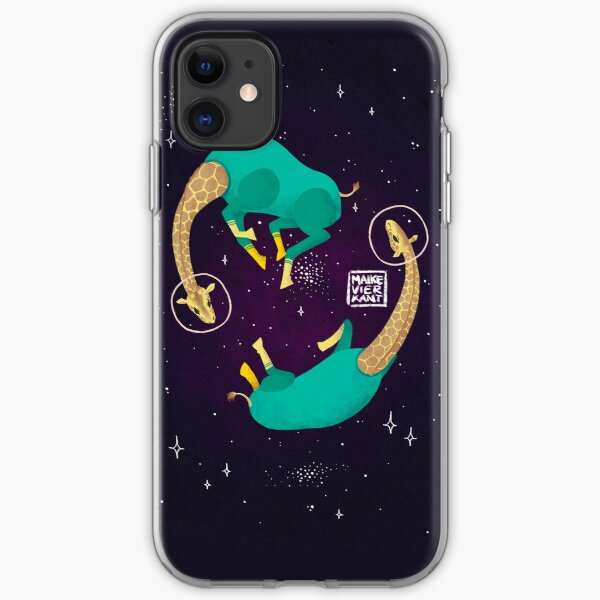 Space Giraffes iPhone Soft Case