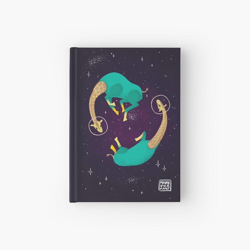 Space Giraffes Hardcover Journal