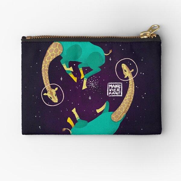 Space Giraffes Zipper Pouch