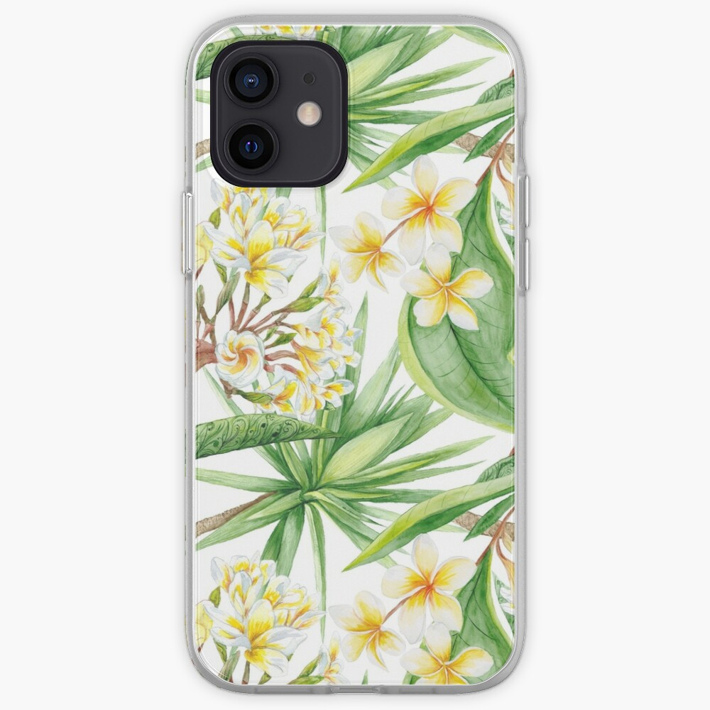 Watercolor Tropical Plants iPhone Case & Cover