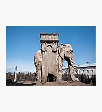 Elephant of the Bastille Photographic Print