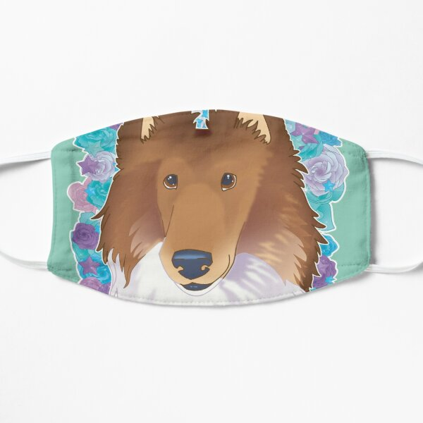 Sable Rough Coated Collie Mask